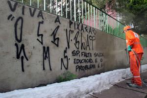 Servizi di Eliminazione Graffiti